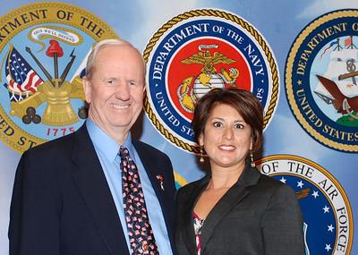 Jerry Molen with Ernestina Borquez-Smith