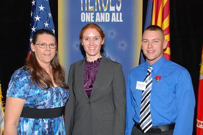 Sheila Russell, Nathan Russell, Dawn Halfaker