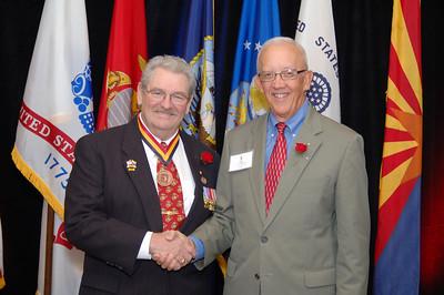 Larry Brown & Lt. Gen. Blanck
