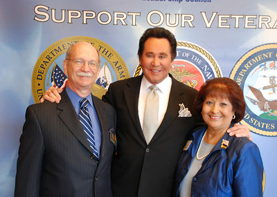 George Ertel, Wayne Newton and Rita Brock-Perini