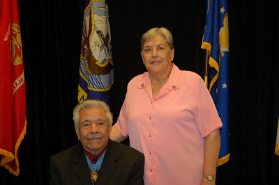 Silvestre Herrera and Pat Patton