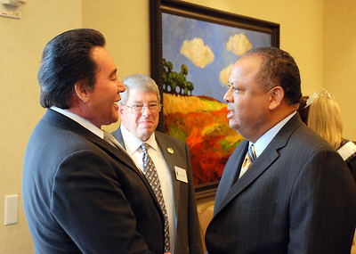 Wayne Newton, Todd Fisher and Victor Daniels