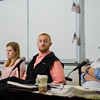 A roundtable discussion on the topic of student veterans transitioning to civilian life was held at Fitchburg State University on Tuesday afternoon. SENTINEL & ENTERPRISE / Ashley Green