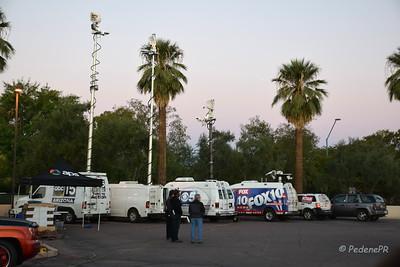 The Parade Pre-dawn Press Pool