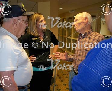 Alden of Waterford breakfast for veterans in Aurora, Ill 5-17-13