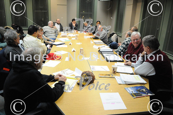 Aurora, IL Veterans Council first meeting held at City Hall 1-23-13