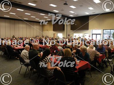Aurora, IL Veterans Appreciation at Prisco Center 11-11-10