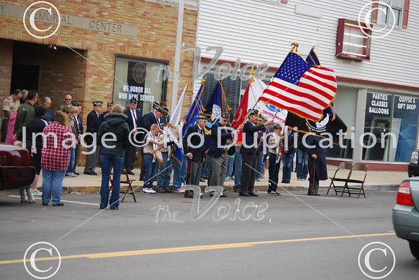 Elburn, IL Veteran's Day ceremony 11-11-12