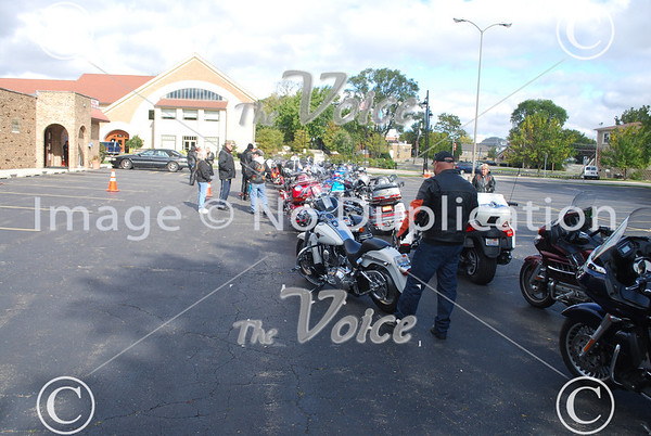 Fox River Ride for the Troops starting at Montgomery VFW in Montgomery, IL 9-22-12
