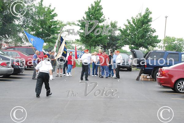Fox Valley Veterans Breakfast Club Flag Disposal Ceremony 7-7-11