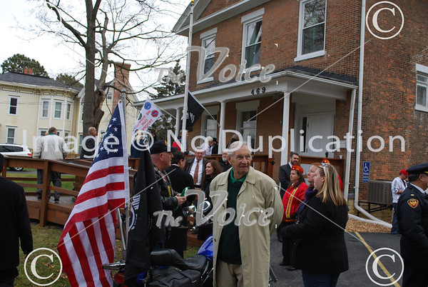 Hope for Tomorrow Veterans Home on Lake Street in Aurora, IL ribbon cutting 12-7-12