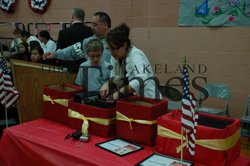 Lac du Flambeau Veterans Day
