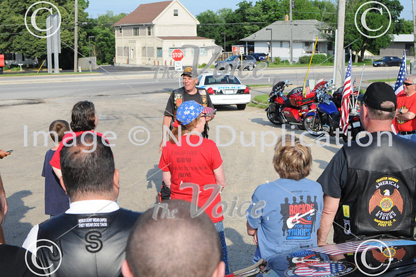 Operation Welcome You Home United States Marine Corps Lance Corporal Mark Dellorto in North Aurora, Ill 6-15-13