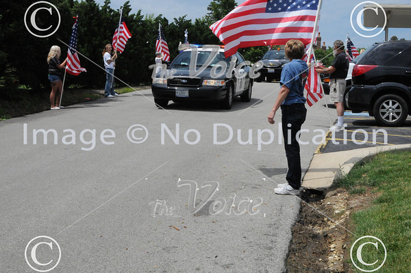 Operation Welcome You Home Army Military Police Sergeant Ryan Kern at Naperville, Ill VFW 6-15-13