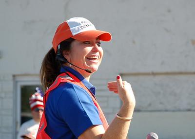 Parade Coordinator Paula Pedene