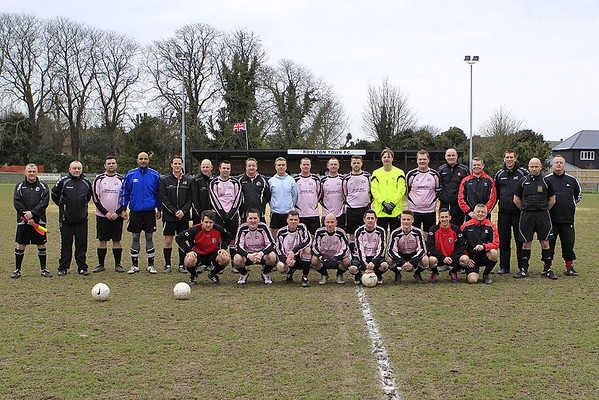 Veterans v Youth Managers 2013