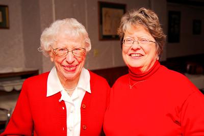 Connie Allord, Marine Veteran with Cheryl Adams Navy Veteran