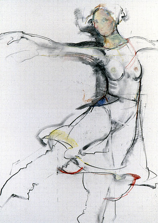 Coloured Skirt Study II from Series III (1992)