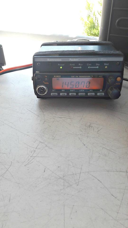 Alinco DR135 and KPC3 Plus