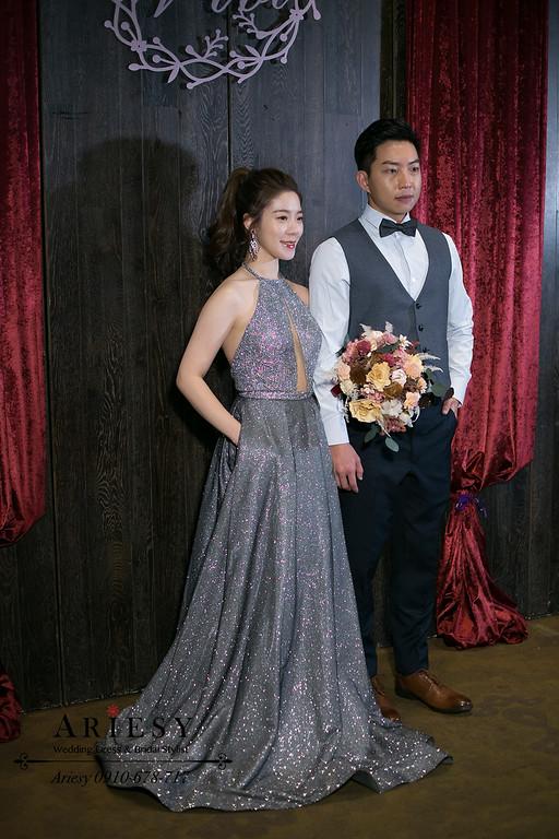 新秘推薦,新娘秘書,Ariesy,台北新秘,君品婚禮,送客時尚新娘造型