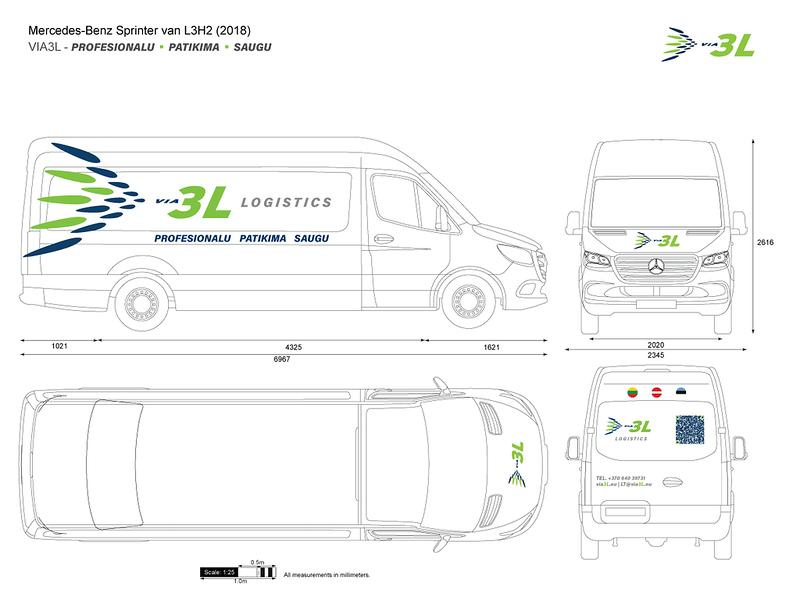 Via 3L LT UAB delivery vans