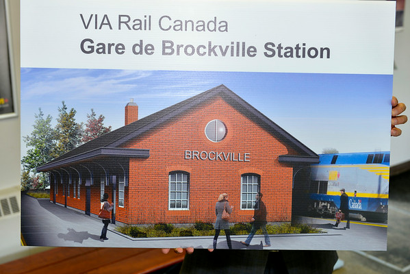 Via Rail Announcement in Brockville