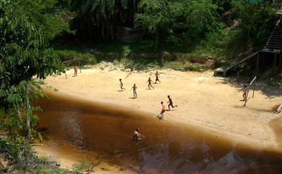 Igarapé seco, Mapiá 2010