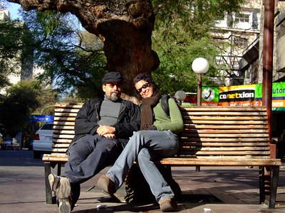 Lila e Ju em San Jose, Argentina  copyright (c) JulianoSerra.com 2007