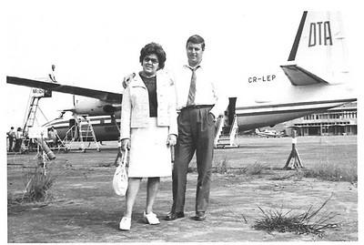 Aeroporto de Portugália - Fokker F-27  Casal Josefa