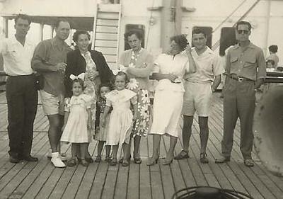 Familia Humberto Sousa, Lena Norberto Guimaraes e mae, casal Mendonca