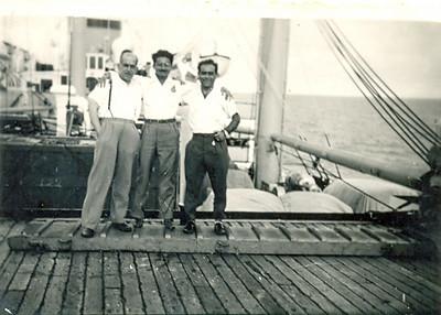 Julho, 1956, Paquete Império