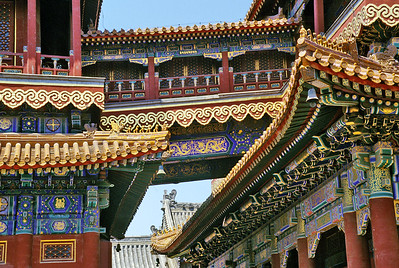 Yonghegong Lama Buddhist Temple, Beijing, China