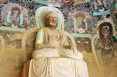 Bingling Si temple, Gansu, China