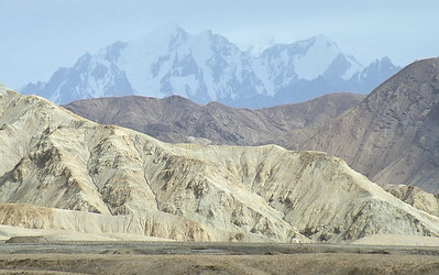 Afghan border next to Wakhan Corridor, Karakoram Highway, Xinjiang