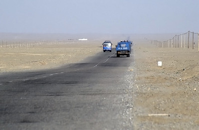 Road to Kargilik (Yecheng), Xinjiang, Silk Road