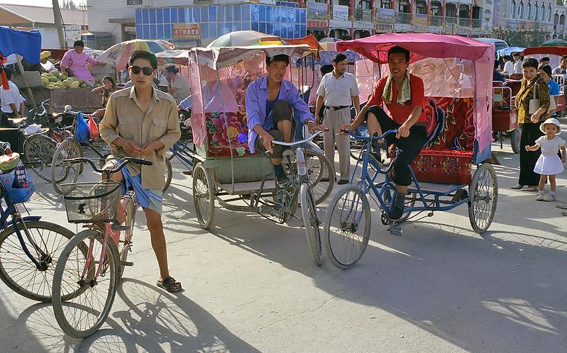 Luntai, Xinjiang, Silk Road
