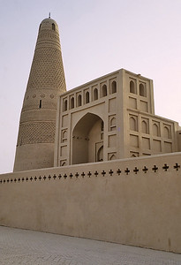 The afghan minaret of Emin Ta, Xinjiang, Silk Road