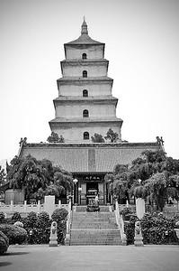 Dàyàn Tà (the Big Goose Pagoda), Xi'an, China