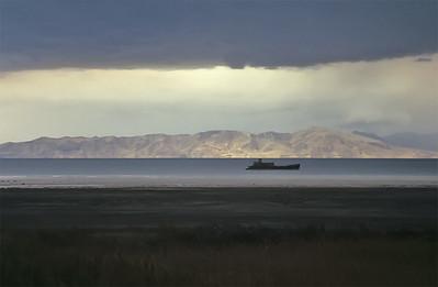 Urmia lake, Iran
