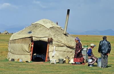 Song Köl, Kyrgyzstan, Silk Road