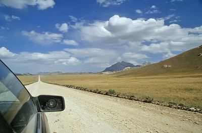Road to Tash Rabat, Kyrgyzstan