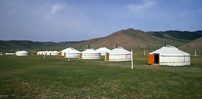 Anar ger camp, Kharkhorin, Mongolia
