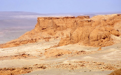 Bayanzag, the Flaming Cliffs, Gobi desert, Mongolia