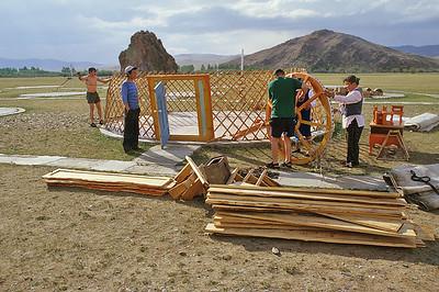 Taikhar Chuluu ger camp, Mongolia
