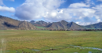 Northern Mongolia, along the Trans-Mongolian route