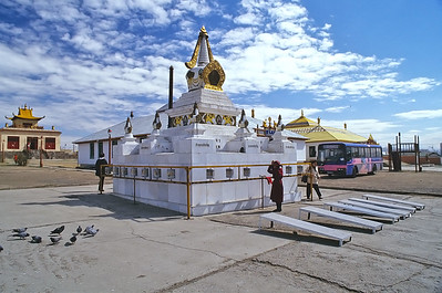 Gandantegchinlen Khid, Ulaan Baatar, Mongolia