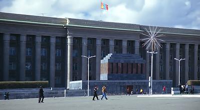 Sukhbaatar Square, Ulaan Baatar, Mongolia