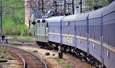 Transiberian railway, Russia