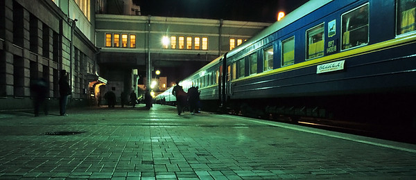 Novosibirsk, Transiberian railway, Russia