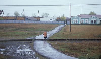 Along the Transiberian railway, Russia